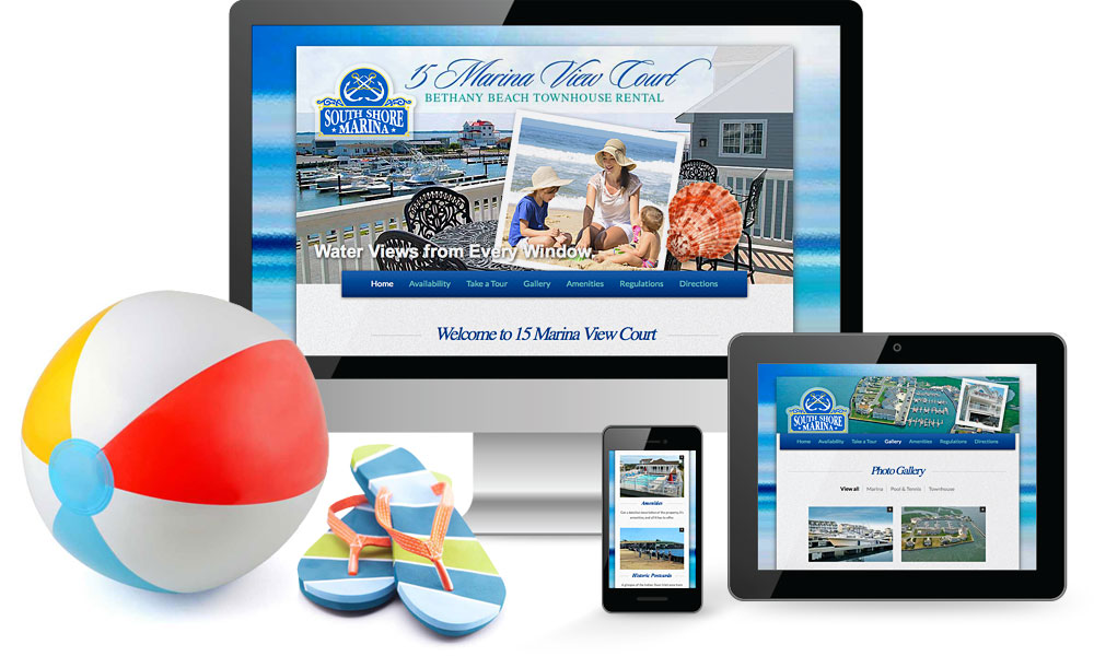 Bethany Beach Townhouse Rental Website
