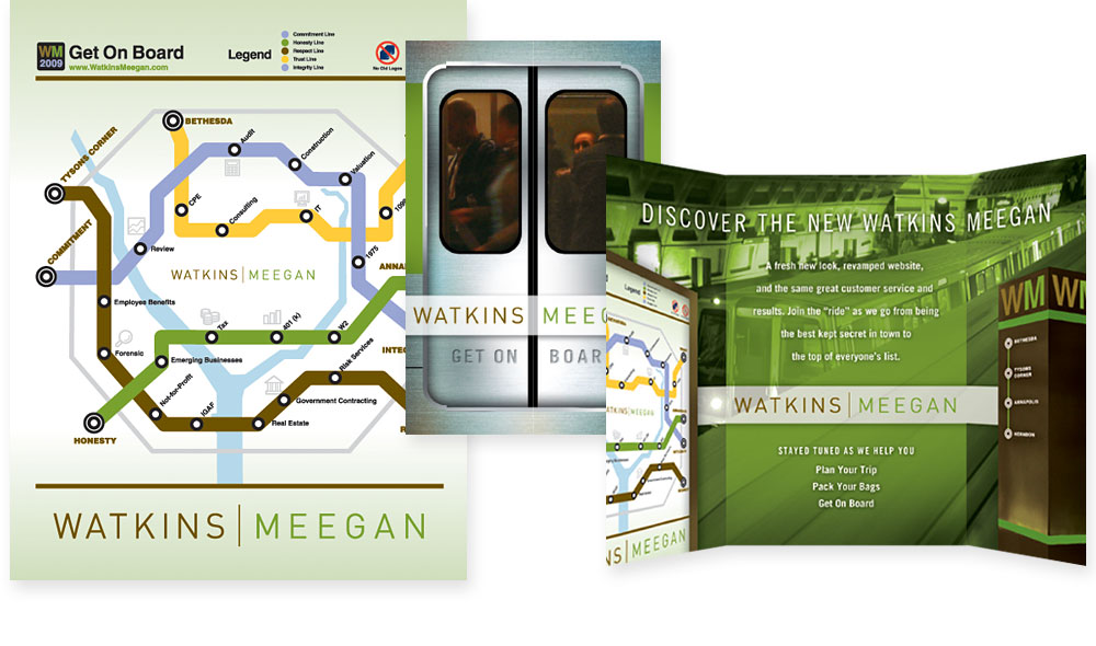 Watkins Meegan Poster and Brochure