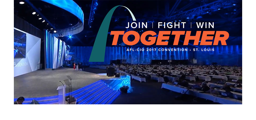 AFL-CIO Convention Logo and Stage Design