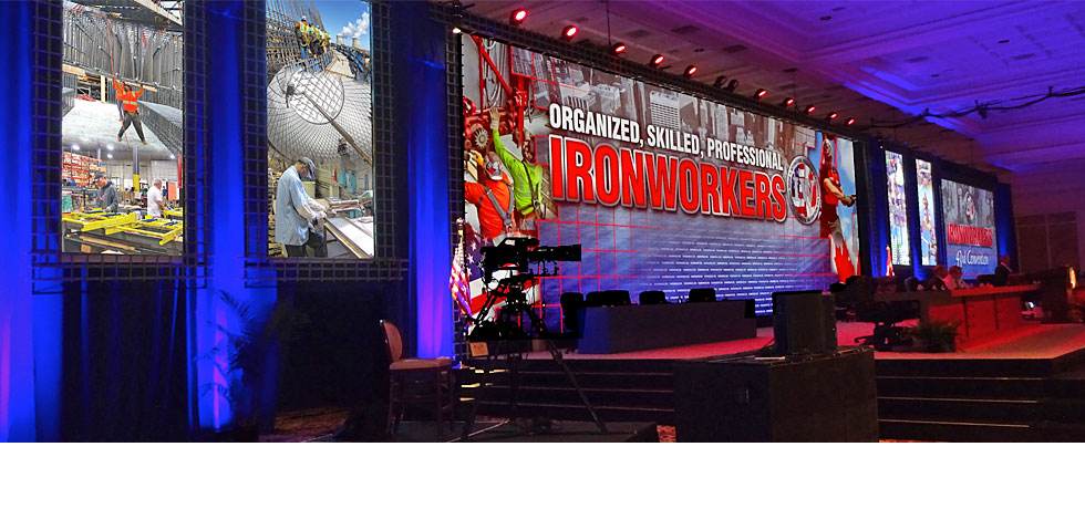 Ironworkers Stage Design