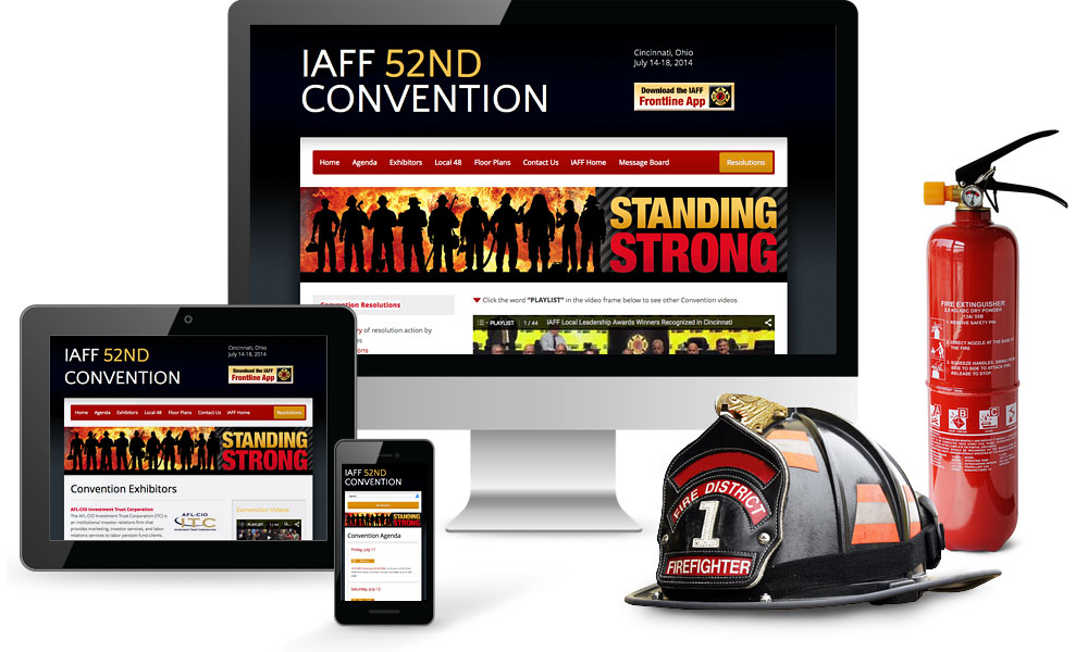 IAFF Convention Website