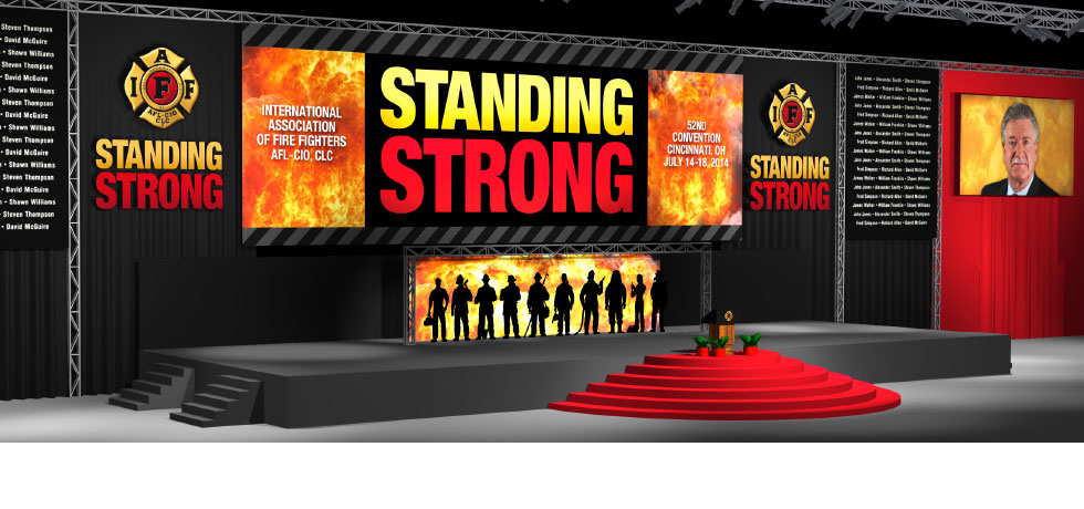 IAFF Convention Staging