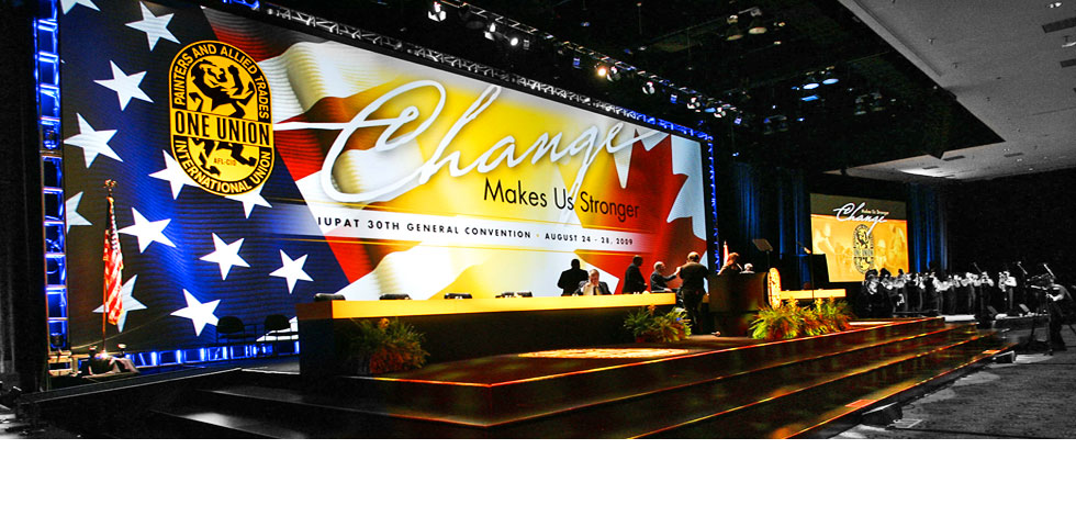 IUPAT Convention Staging
