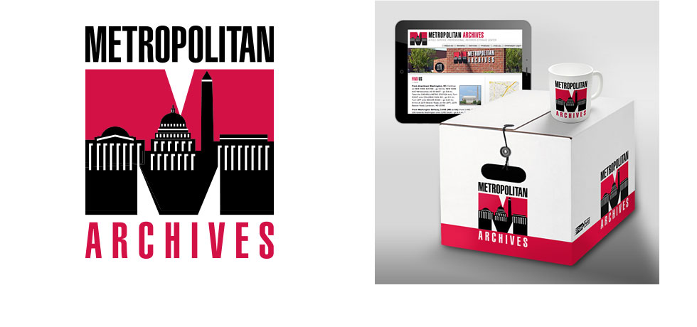 Metropolitan Archives Logo and Collateral