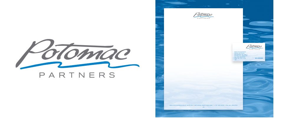 Potomac Partners Logo and Stationery