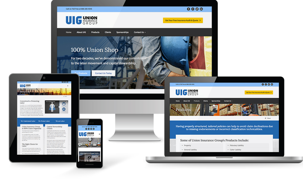 Union Insurance Group Website