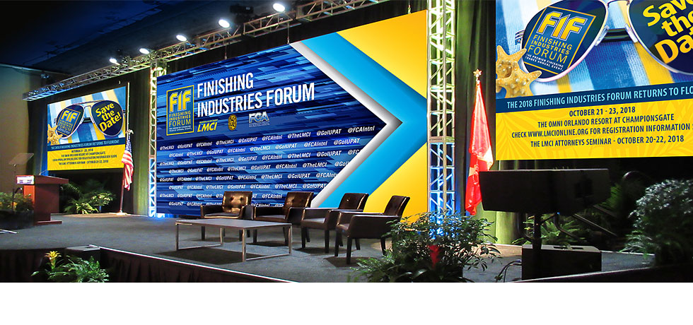 Finishing Industries Forum Stage